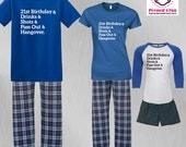 Birthday Pajamas 21st Bir...