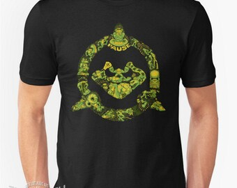 Toadally Epic Battletoads T-shirt inspired by the Nintendo game retrogaming