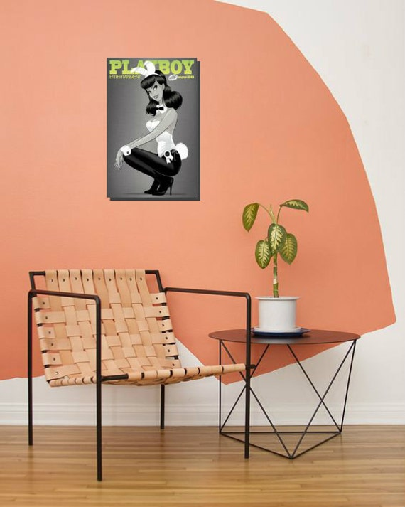 Playboy Chipboard Art Print Wall Decor For Home And Office Home Decorators Catalog Best Ideas of Home Decor and Design [homedecoratorscatalog.us]