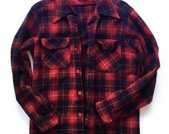 Vintage Pendleton Flannel | vintage flannel | original Pendleton | size M