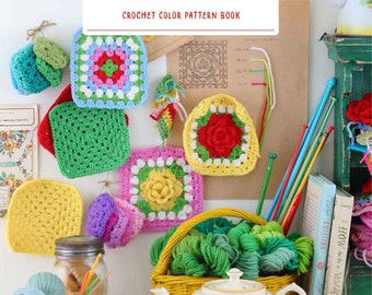 "Japanese Handicraft Book""Crochet color scheme BOOK""[4767822297]"