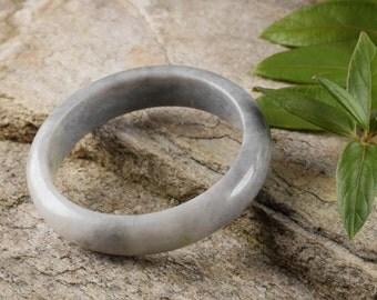 6cm JADE Bangle Bracelet from Burma - Jadeite Bangle - Jade Jewelry Stone Bracelet 27999