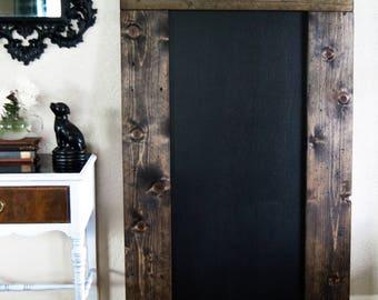 Chalkboard // Framed Chalkboard // Chalkboard Sign // Oversized Chalkboard