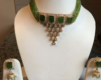 Indian Necklace & Earrings Set