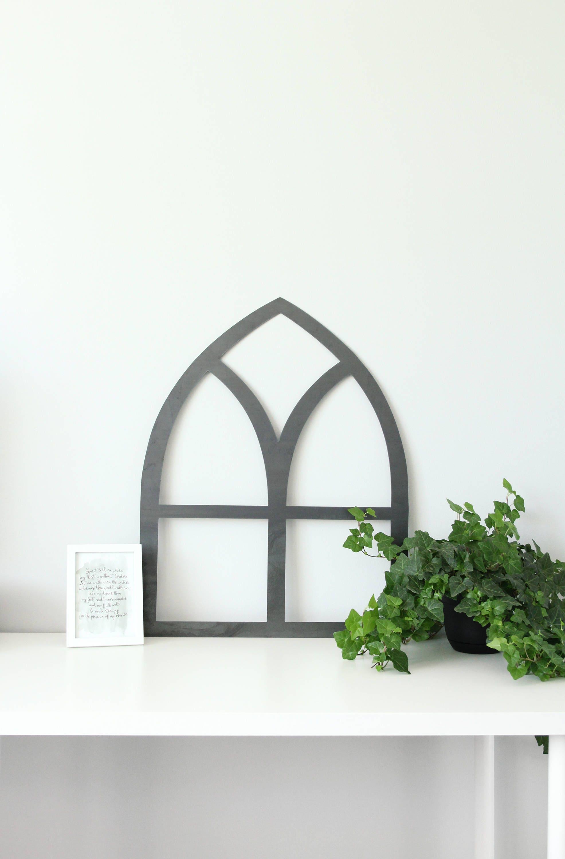 Rustic Window Frame Wall Decor : Metal window frame rustic farmhouse chic wall decor