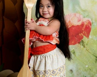 Moana Costume, Moana Dress Hawaiian Princess Costume, Moana Birthday, Moana Dress-up, Girls Moana, Toddler Moana, Infant Moana