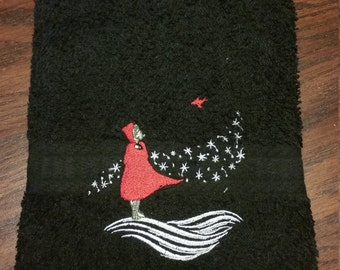 Red Riding Hood- Winter-Hand Towel