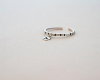 Ring X / / cross silver