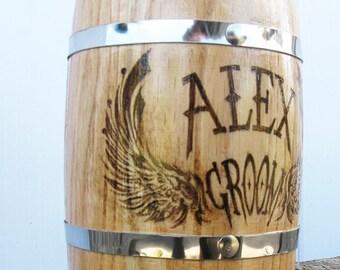 Groom Gift/Personalized Groom Beer Mug/Wedding Gift For Groom From Bride/Best Man Gift/For Groom/Wood Beer Stain/Will You Be My Groomsman