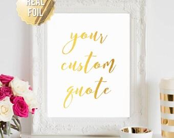 Gold Foil Wall Art foil wall art   etsy