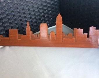 Cleveland Skyline Wall Art