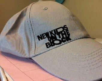 New Kids on the Block Cap - NKOTB- New Kids Cap - Ball Cap - NKOTB Hat - The Total Package Tour NKOTB Concert
