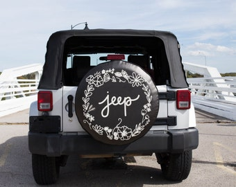 Jeep Tire Cover Etsy