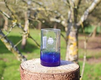 Ciroc Snap Frost Vodka Tumbler Glass - Upcycled Vodka Bottle