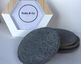 Concrete Drink Coasters