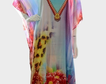 kaftan dress caftan maxi plus size moroccan dress