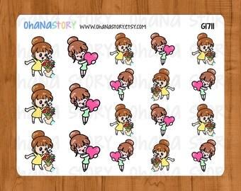 Janine Feeling Loved Planner Stickers (G1711)