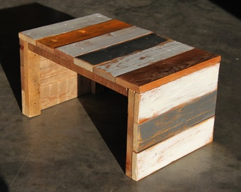 Rustic Reclaimed Pallet Racking Coffee Table