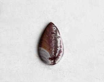 Sonoran Dendritic Jasper Cabochon - Natural Scenic Stone Cab