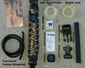 Hungry fella Paracord survival bracelet