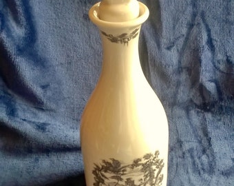 Coalport Decanter, Coalport China, Bottle, Limited Edition, Collectible China, Collectible Bottle, Barware, Carafe