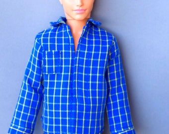 Ken doll clothes - shirt - Barbie clothes, doll clothes