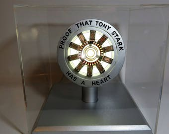 Prove that Tony Stark has a Heart Arc Reactor Iron Man Replica/Prop