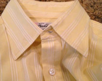 Super High End TURNBULL & ASSER Dress Shirt - Wear It to your Office or with Your Jeans - 16/41- small