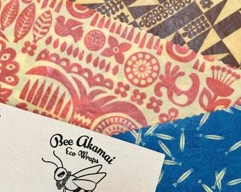 Bee Akamai 3 Pack Eco Wraps Mix N' Match