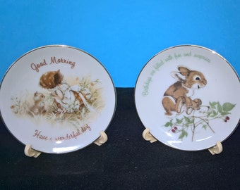 2 Lasting Treasures Collectible Plates
