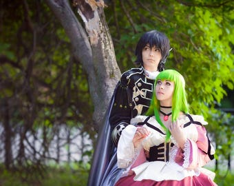 Code Geass Lelouch of the Rebellion Cosplay Costume Dress Anime Halloween Fantasy Manga Suit Japanese Costume