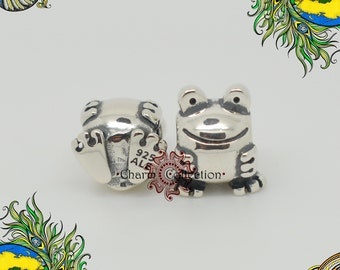 Genuine Pandora, Silver Frog Charm 790247