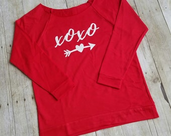 Valentines Day Shirt Women, XOXO Shirt Womens, Valentines Shirt, Hugs and Kisses