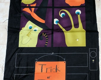 Monster Bash Panel Cotton Fabric by Moda