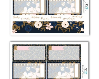 Joy Forever Notes Page Kit Planner Stickers