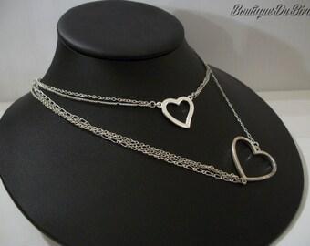 Silver Heart Neckalce