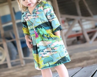 Girls fall outfit - fall clothes for girls - school dress -fall dress for girls - toddler fall dress - girls vintage style dress