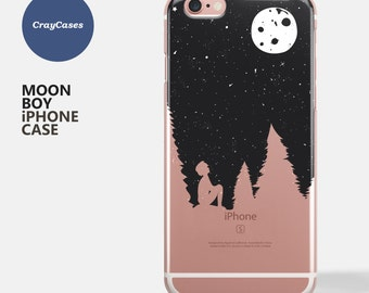 Moon iPhone Case, Moon iPhone 7 Case, Moon iPhone 7 Plus Case, Moon iPhone 6 Case, also available for iPhone 6/s Plus (Ships From UK)
