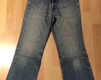 Levi's 517 Jeans Denim Blue Boot Cut