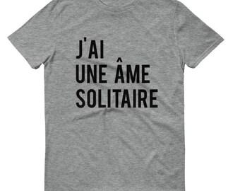 j'ai une âme solitaire | I am a lonely soul | Mrs. Tremond |  Twin Peaks T shirt