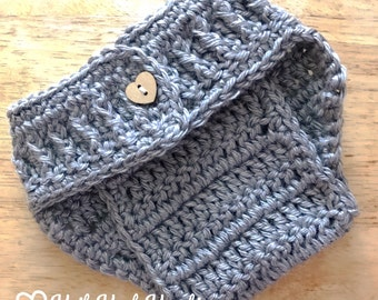 Crochet Diaper Cover - Newborn Girl Coming Home Outfit, Newborn Boy Coming Home Outfit, Newborn Photo Prop, Baby Shower Gift, Newborn Diaper