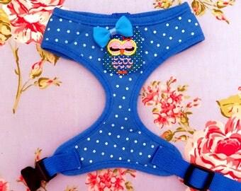 Twit twoo pretty dog harness