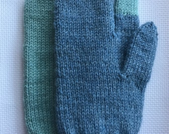 Hunting mittens. PDF knittingpattern  [Norwegian & English]