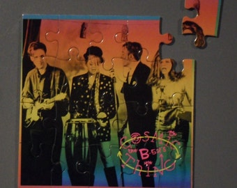 B-52's CD Cover Magnetic Puzzle