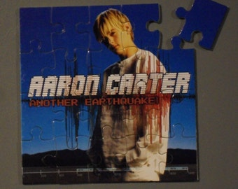 Aaron Carter CD Cover Magnetic Puzzle