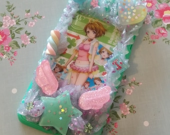 Hanayo Koizumi Love Live! green decoden phone case for iPhone 6 Plus