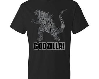 Godzilla in the News T-Shirt