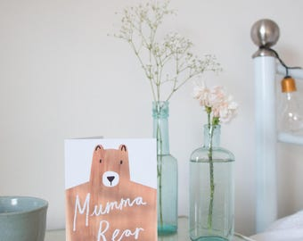 Mumma Bear Greetings Card