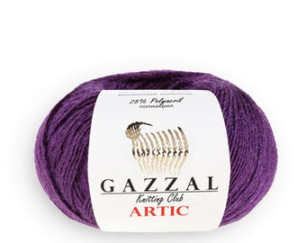 Gazzal ARTIC Lana Merino wool blend merino yarn color choice wool yarn warm yarn winter yarn merino wool shiny yarn