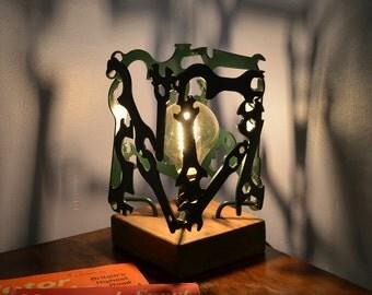 Vintage Bicycle Spanner Lamp
